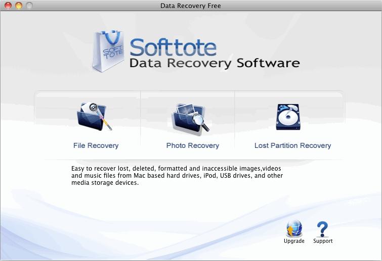 Softtote Mac Free Data Recovery