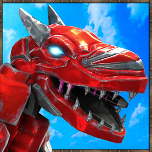 Scary Dino Robot 3D : City Battle 2018