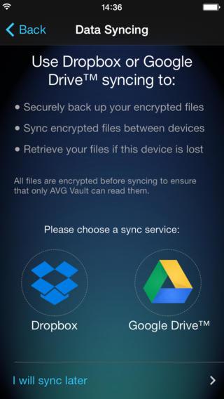 AVG Vault - Hide, Store & Sync