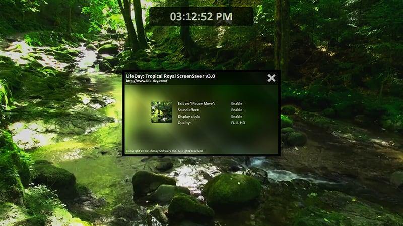 Tropical Royal ScreenSavers