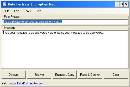 Encryption Pad
