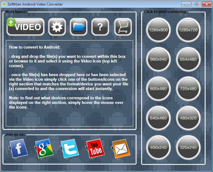 SoftKlan Android Video Converter