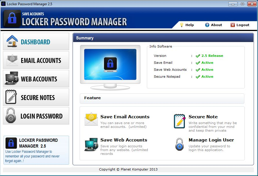 Locker Password Manager