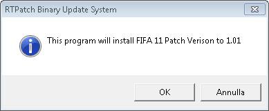 Parche para FIFA 11