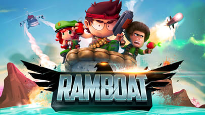 RAMBOAT - Game of Shoot and Dash, Run and Jump !