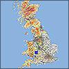 A-Z Roadmap of Great Britain