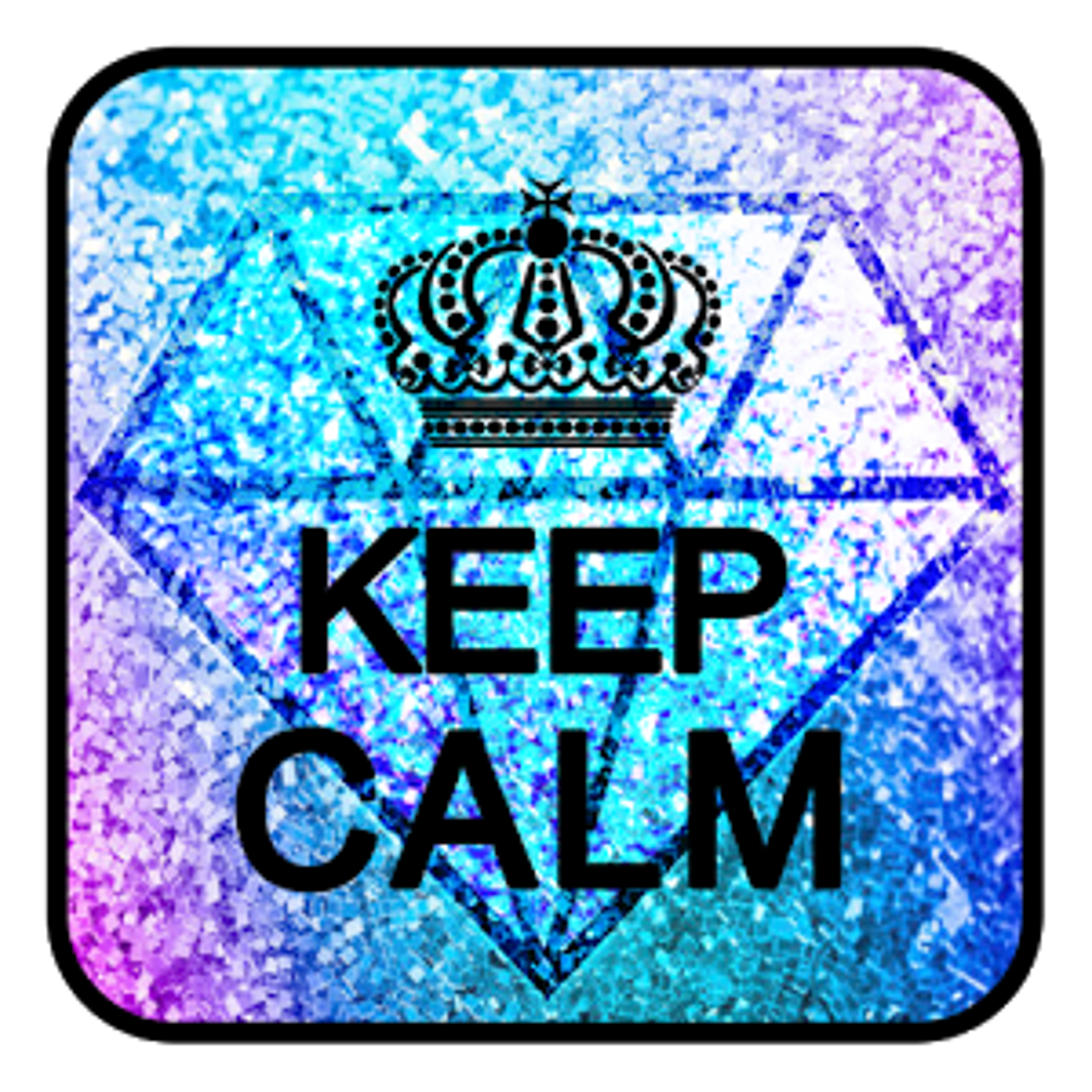Keep Calm keyboard 10001004