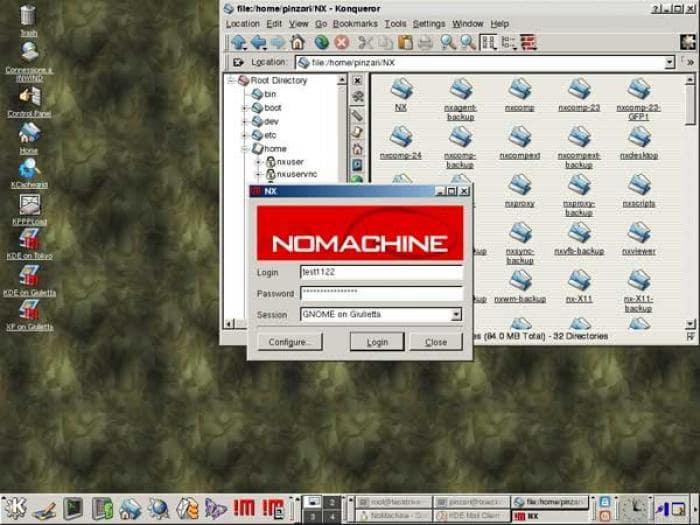 NoMachine NX