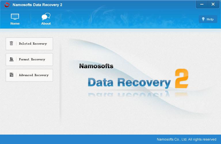 Namosofts Data Recovery 2