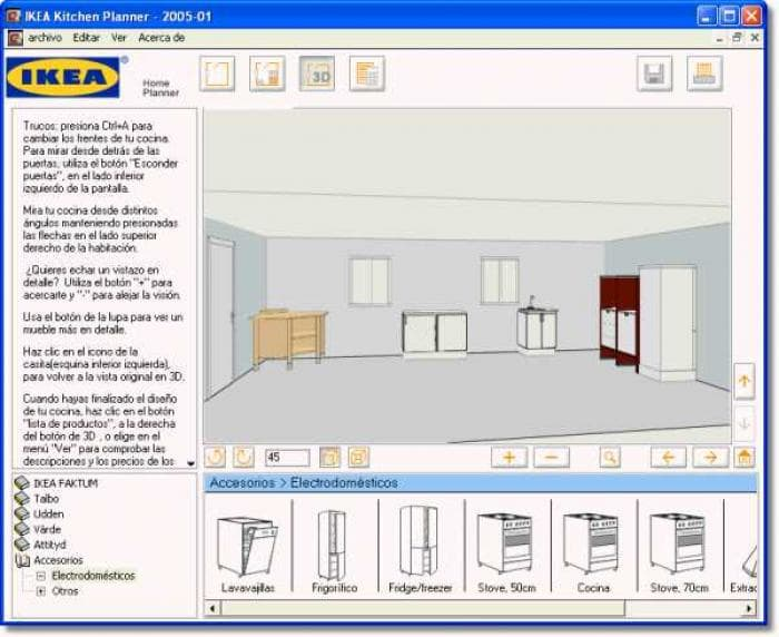 Ikea home kitchen planner descargar for Disena tu cocina en 3d online