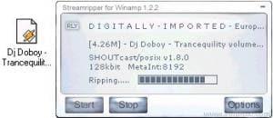 Streamripper pour Winamp