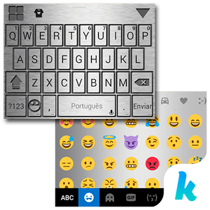 Steel Power Kika KeyboardTheme 1.0