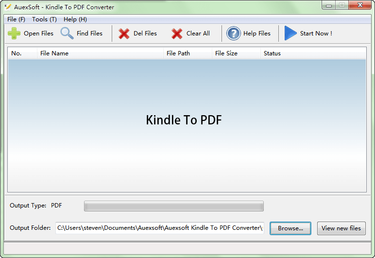 Kindle To PDF