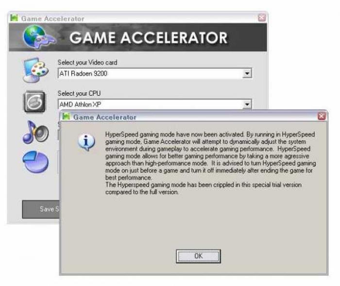 Game Accelerator
