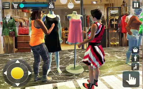 Black Friday sale shopping mall cashier ATM machin