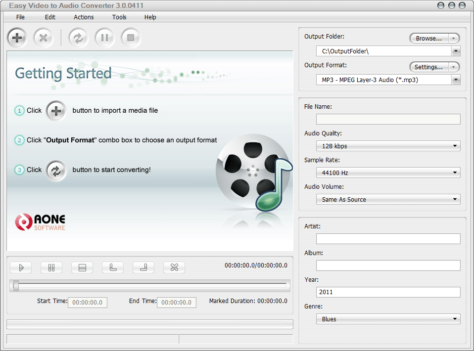 Easy Video to Audio Converter