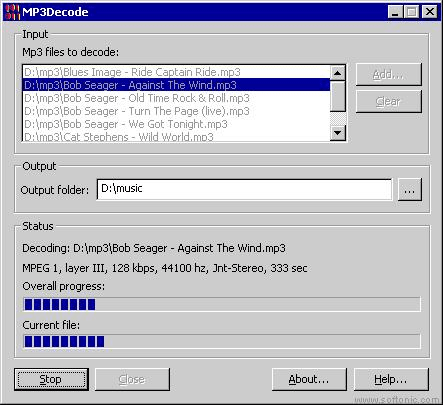MP3 Decode