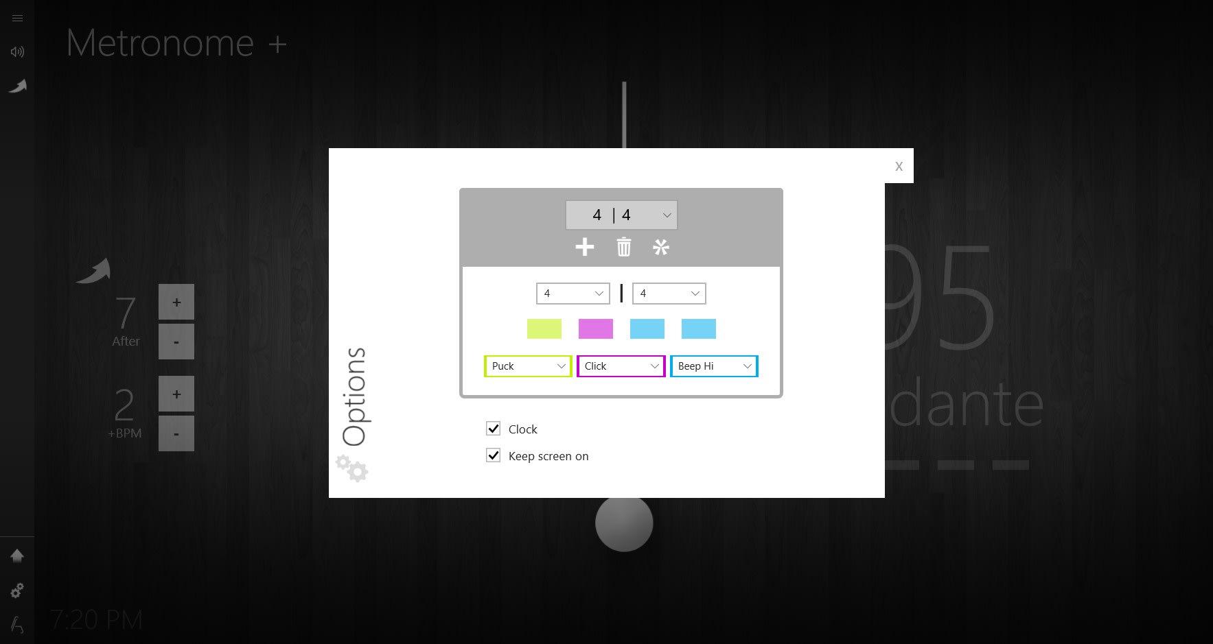 Metronome +