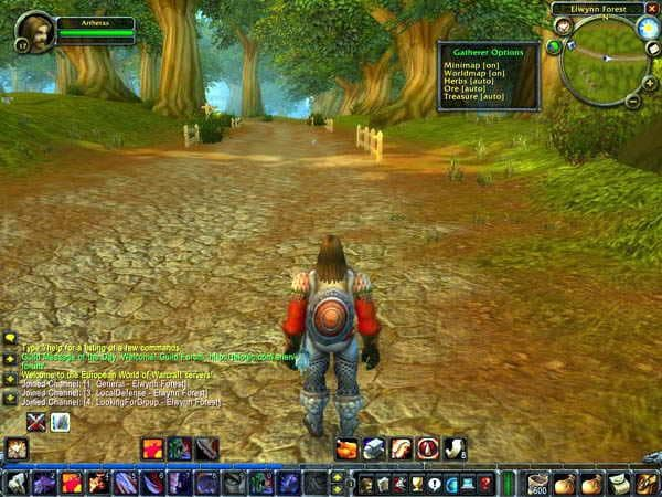 World of Warcraft Gatherer