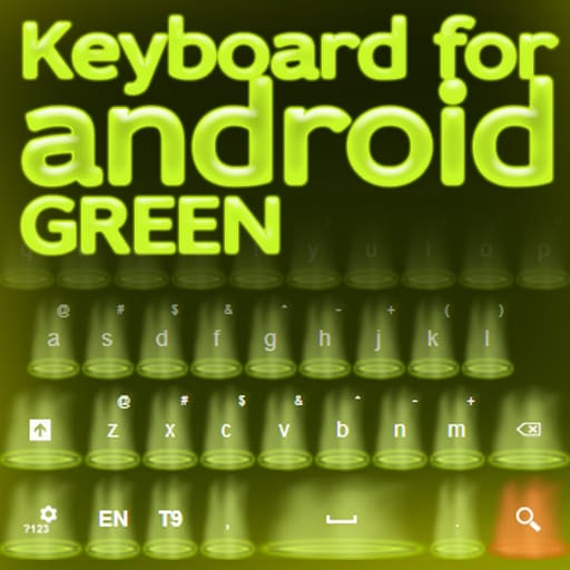 Keyboard for Android Green