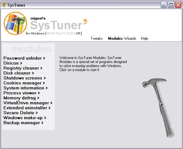 SysTuner