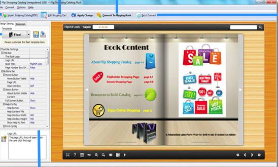 Flip Shopping Catalog