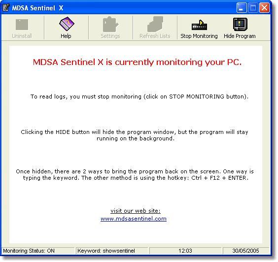 MDSA Sentinel