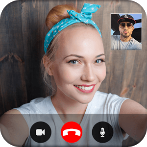 Fake Video Call : Girlfriend FakeTime prank