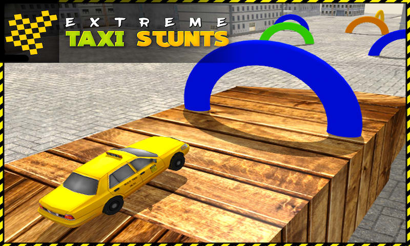 Taxi Crazy Stunts Simulator 3D