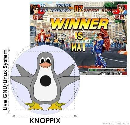 KnoppixMAME