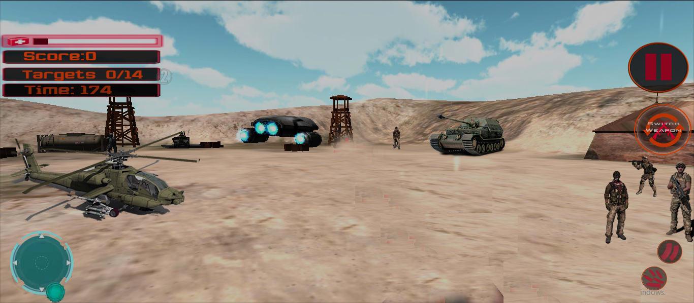 Modern Final Commando Attack