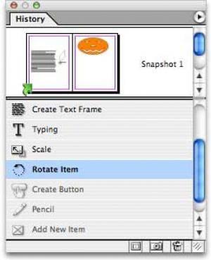 History para Adobe InDesign CS