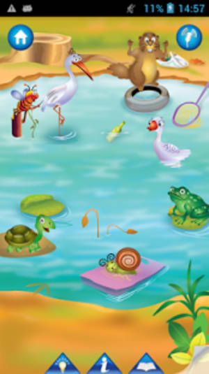 The Animal Pond Kid Story Lite
