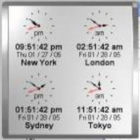 Kybtec World Clock Professional