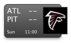 NFL Schedule Widget