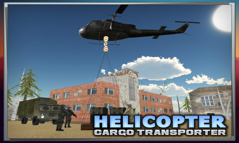 Helicopter Cargo Transporter