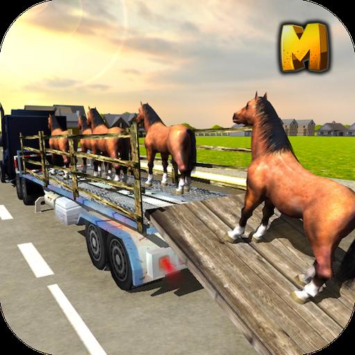 Horse Transport Truck Sim 3D