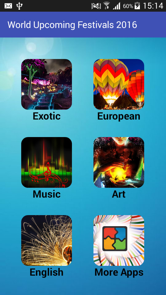 World Upcoming Festivals 2016