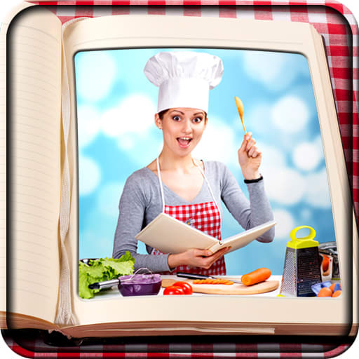 Cookbook Photo Frames