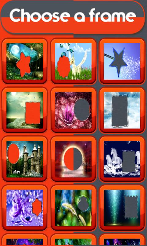 Fairy World Photo Frames