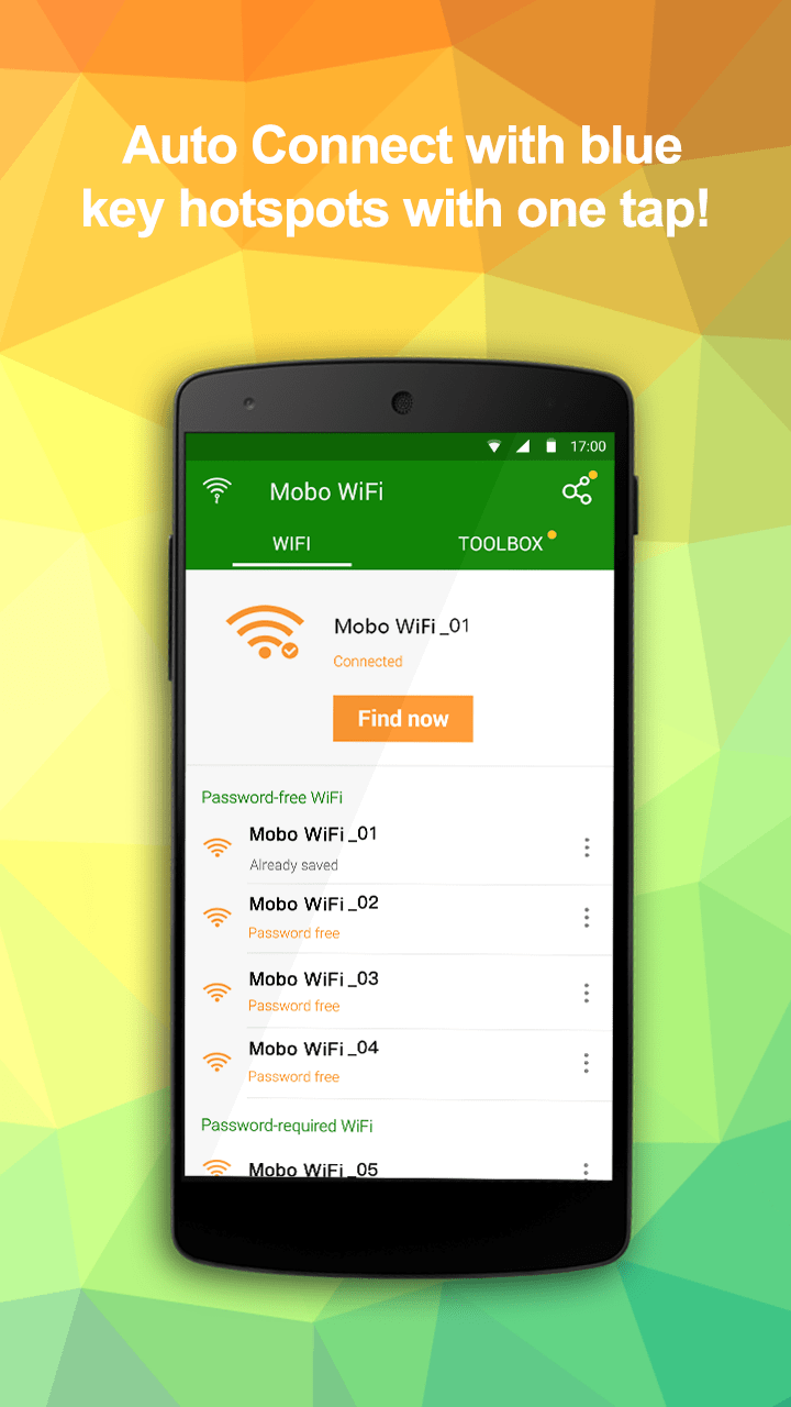 Mobo WiFi - Mobile Network