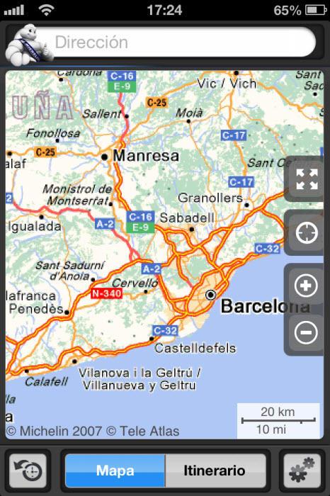 ViaMichelin: GPS, Tráfico, Radar, Ruta