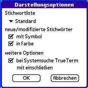 TrueTerm Wörterbuch Deutsch-Englisch