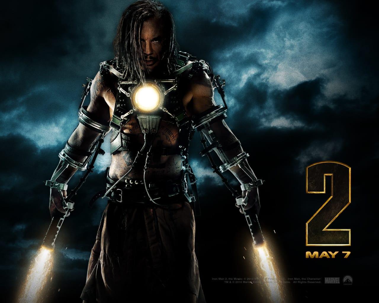 Iron Man 2 Wallpaper: Whiplash