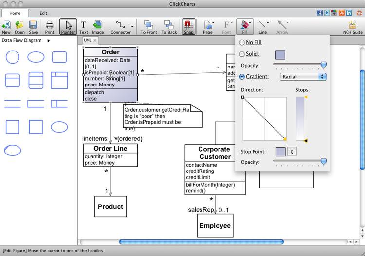 Technical Drawing Program Design Organizational Dia