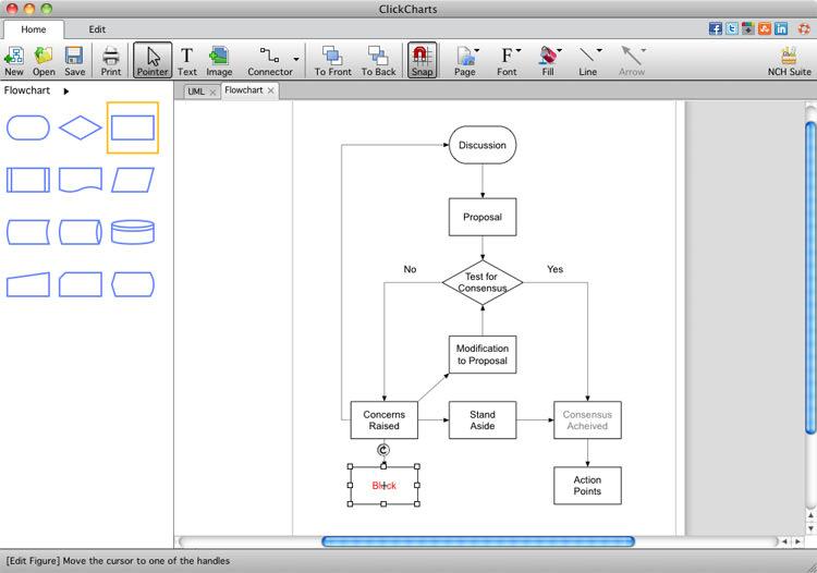 authors review - Diagram Flowchart Software