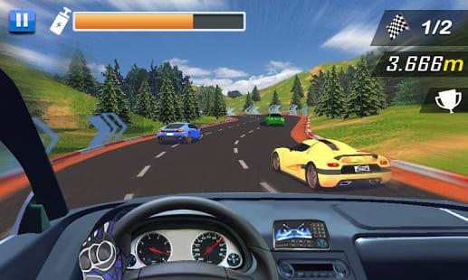 Racing In Car