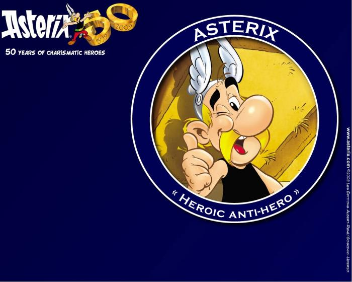 Asterix 50th Anniversary Wallpaper