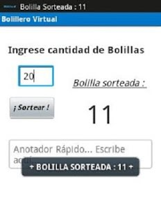 Bolillero Virtual Free Final