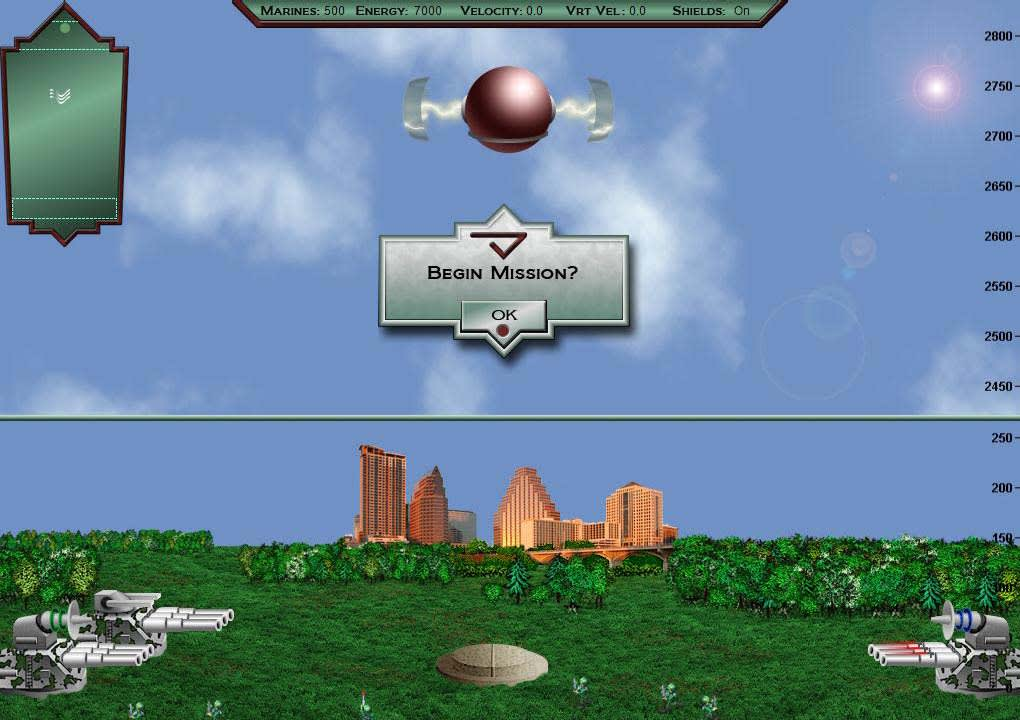 Martian Marine Lander